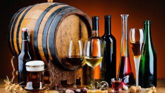 Скидка 50 % на алкоголь
